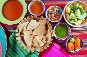 Mexican sauces pico de gallo habanero chili sauce Mexico spices