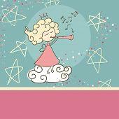 fairy plying trumpet
