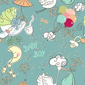 nahtlose Baby Boy pattern