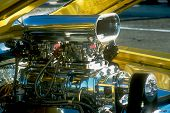 Chromed Blown Engine