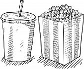 Movie concessions sketch