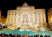fountain Trevi in Rome
