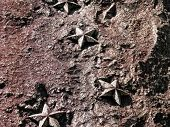Rock Texture With Stars
