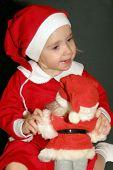 Santas Little Girl