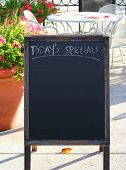 Today's Special: