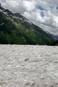 picture of firn  - The mountains and glaciers - JPG