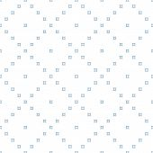 Minimalist Geometric Seamless Pattern. Soft Blue And White Colored Background. Simple Vector Abstrac poster