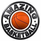 Amazing Basketball Circular Design