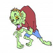 Zombie Halloween Monster