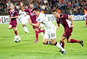 CLUJ-NAPOCA, ROMANIA - OCTOBER 2: van Persie in UEFA Champions League match between CFR 1907 Cluj an
