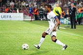 CLUJ-NAPOCA, ROMANIA - OCTOBER 2: Evra in UEFA Champions League match between CFR 1907 Cluj and Manc