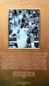 Jimmy Connors plaque at US Open Court of Champions