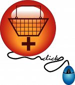 Button Add To Cart Mouse Click.