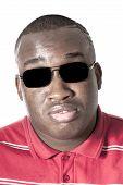 Blind Nigerian Man