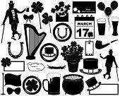 Saint Patrick's Day elements