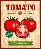 picture of food crops  - Collection of vintage retro farm labels and design elements - JPG