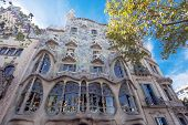 stock photo of gaudi barcelona  - BARCELONA  - JPG