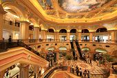 Cotai Strip, Macau, China - April 16th 2013 :   The Venetian Hotel, Macao - The famous shopping mall