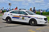 Car of theThe Royal Canadian Mounted Police