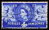 Queen Elizabeth And World Scout Jamboree