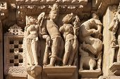 Carving From The Vishnavath Temple, Khajuraho- India