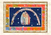 image of mary  - Christmas nativity scene - JPG