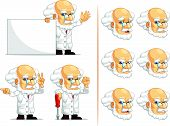 Scientist Or Professor Customizable Mascot 5