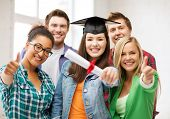 stock photo of tassels  - education  - JPG