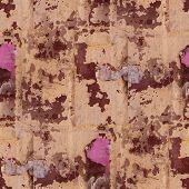 seamless wall paper texture old cover grunge dirty remnants post