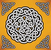 Celtic ornament (gordian knot)