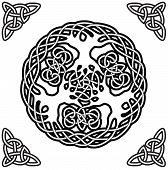 Celtic ornament (yggdrasil)