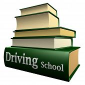 Education books - driving school