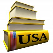 Guidebooks and dictionaries of USA