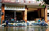 Thai Flood Hits Central Of Thailand