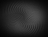 Metal Background With Dots Pattern