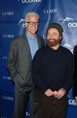 Ted Danson and Zach Galifianakis  at the 2009 Oceana Annual Partners Award Gala, Private Residence, Los Angeles, CA. 11-20-09