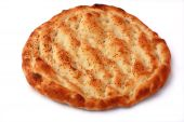 Pita Isolated On White Background. Popular Food In Ramadan.