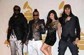 Will.i.Am, Apl.de.Ap, Stacy 'Fergie' Ferguson, and Taboo of the Black Eyed Peas at The GRAMMY Nominations Concert Live!, Club Nokia, Los Angeles, CA.  12-02-09