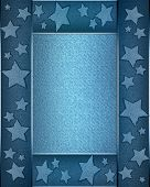 foto of iron star  - The template for the inscription - JPG