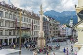 Saint Anne Column In Innsbruck, Austria.