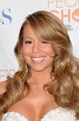 Mariah Carey at the 2010 People's Choice Awards Press Room, Nokia Theater L.A. Live, Los Angeles, CA