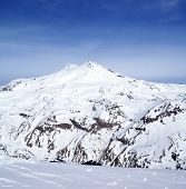 Panoramic View On Mount Elbrus