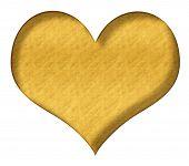 Valentine Heart Gold