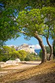 image of akropolis  - Beautiful view of ancient Acropolis Athens Greece - JPG
