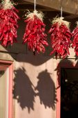 Three Hanging Ristras