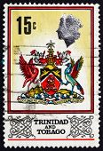 Postage Stamp Trinidad And Tobago 1969 Coat Of Arms