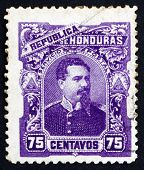 Postage Stamp Honduras 1891 President Luis Bogran