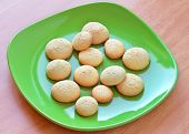 Tamago Boro - Egg Biscuit. Popular Japanese Snack For Children.