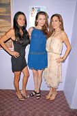 Lisa Solomon, Alicia Arden and Kerri Kasem at the dual screenings of