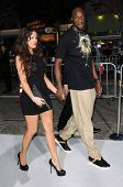 Khloe Kardashian and Lamar Odom  at the Los Angeles Premiere of 'Whiteout'. Mann Village Theatre, Westwood, CA. 09-09-09